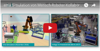 Planning and Simulation of Human-robot collaboration at Geberit